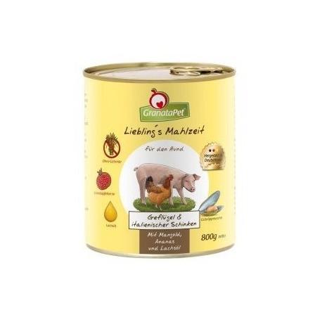 GranataPet de pollo y jamón italiano