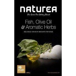 Naturea Biscuits pescado, aceite de oliva y hierbas