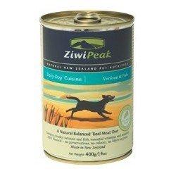 ZiwiPeak DailyDog 370g ciervo y pescado