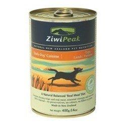 ZiwiPeak DailyDog 370g tripa cordero y ciervo