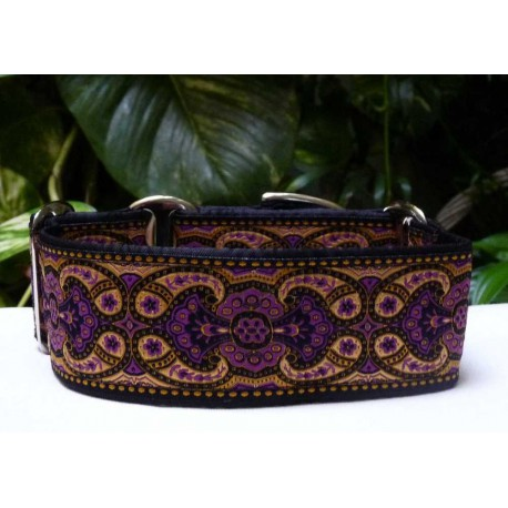 Collar martingale Amebas Purple