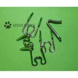 Eslabones de repuesto para collar estrangulador