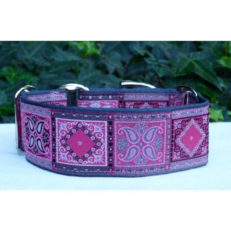Collar martingale Borneo rosa
