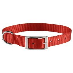 Collar Avenue de nylon básic rojo