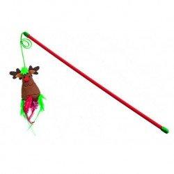 Varita navideña con reno