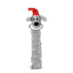 Perro Longie navideño