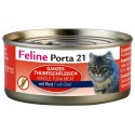 Porta 21 Feline 90g atún y ternera