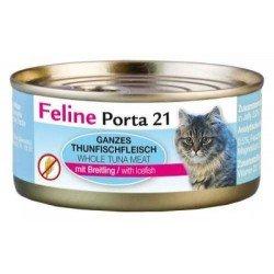 Porta 21 Feline 90g atún y espadín