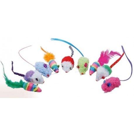 Pack 9 ratones de colores