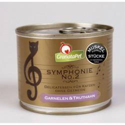 GranataPet Symphonie 2 gambas y pavo