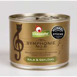 GranataPet Symphonie 6 ternera y ave