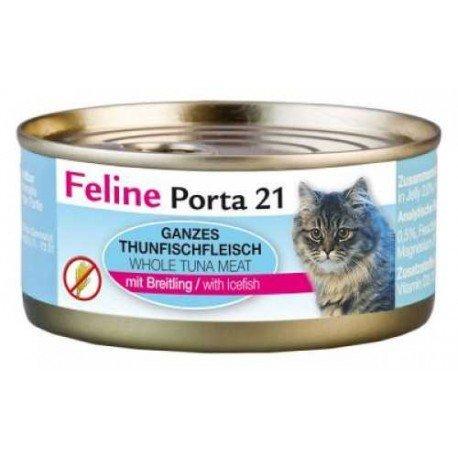Porta 21 Feline 156g atún y espadín