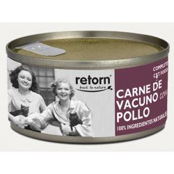Retorn 80g Vacuno con pollo