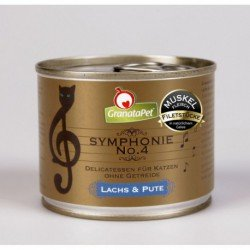 GranataPet Symphonie 4 salmón y pavo
