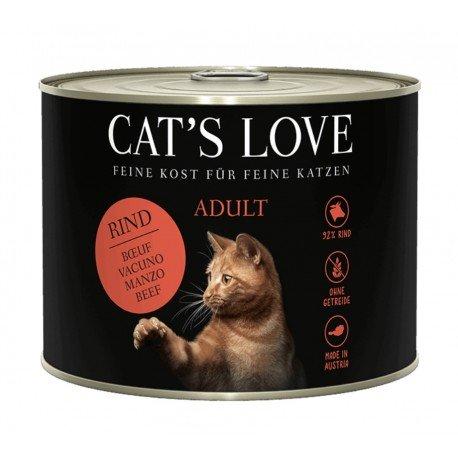 Cat's Love Adult Vacuno puro