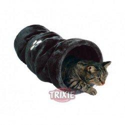 Túnel de felpa para gatos