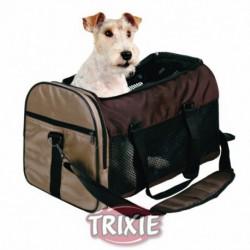 Transportín TBag Deluxe con perro