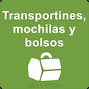 Transportines, mochilas y bolsos