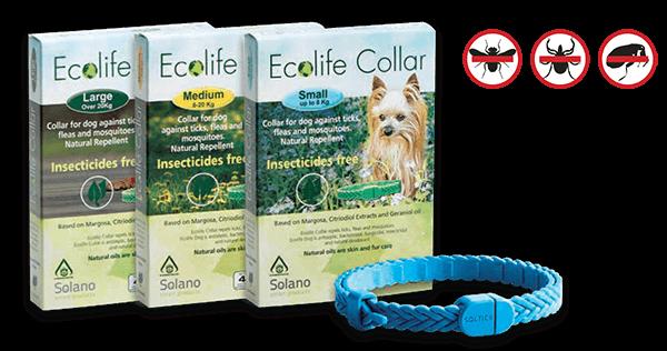 Collar antiparasitario naturas Ecolife de Solano