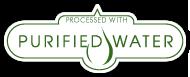 Fabricación con agua purificada