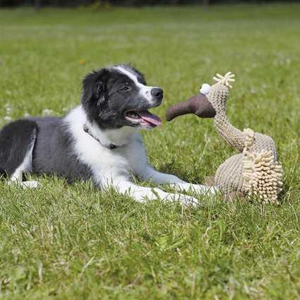 El peluche Gustav será el mejor amigo de su perro