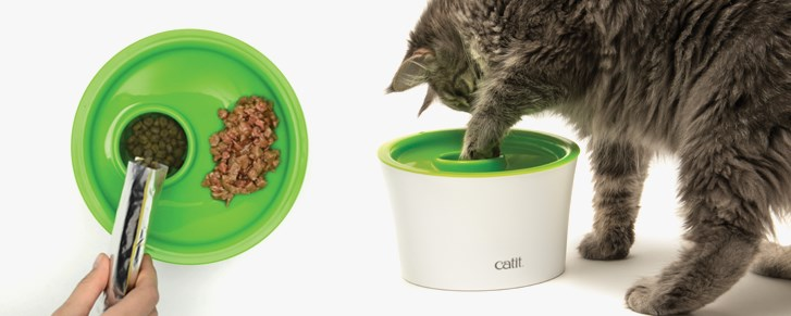 Paw Pit del CatIt Multi Feeder para gatos