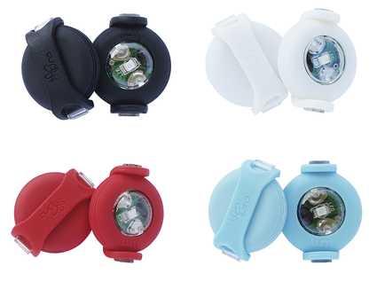 4 colores a elegir de las luces LED Luumi