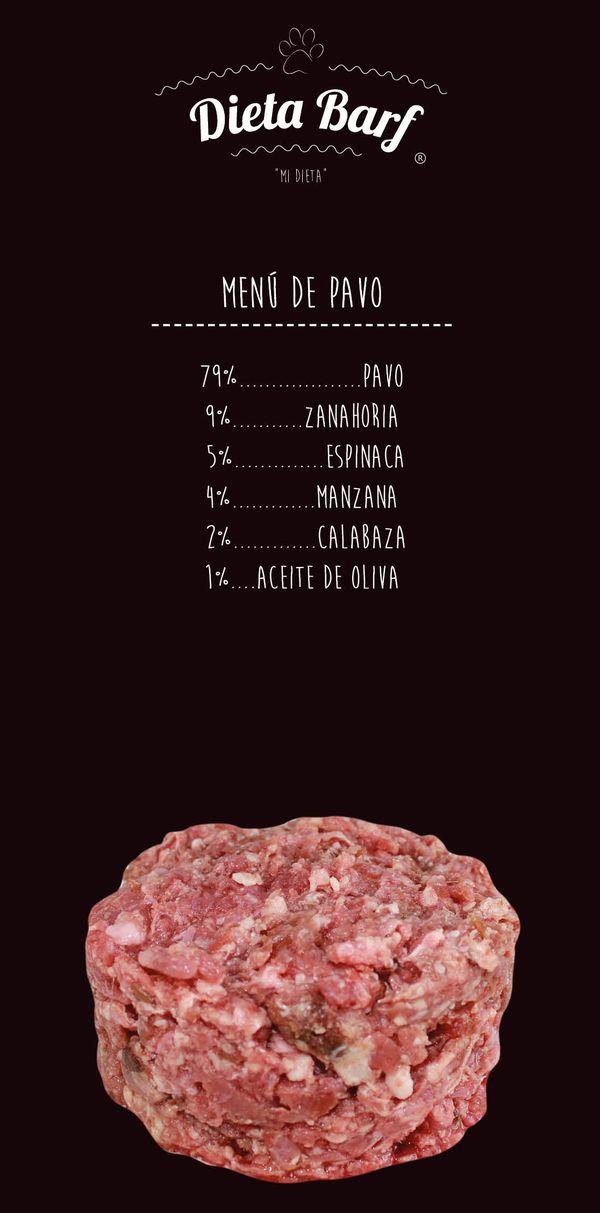 Dieta Barf de pavo