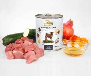 Ingredientes de GranataPet Ternera & Conejo salvaje