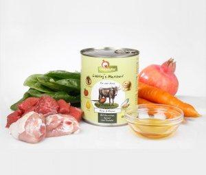 Ingredientes de GranataPet Ternera & Faisán
