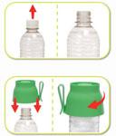 Usar el bebedero portátil H2O Cup de Hagen es muy sencillo