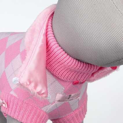 Cuello desmontable del jersey Dog Princess
