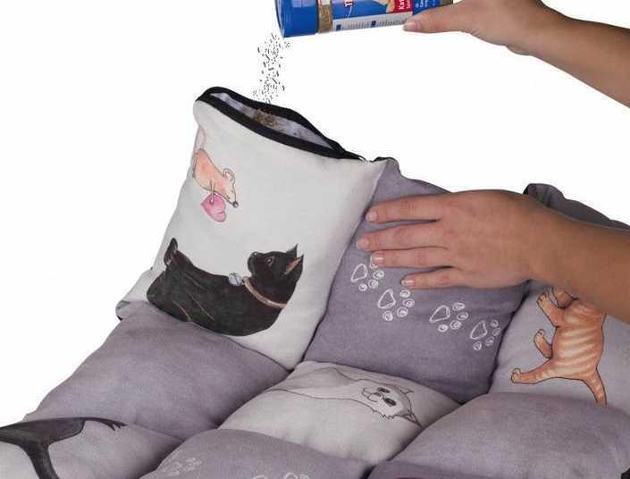 Manta cama para gatos Patchwork de Trixie