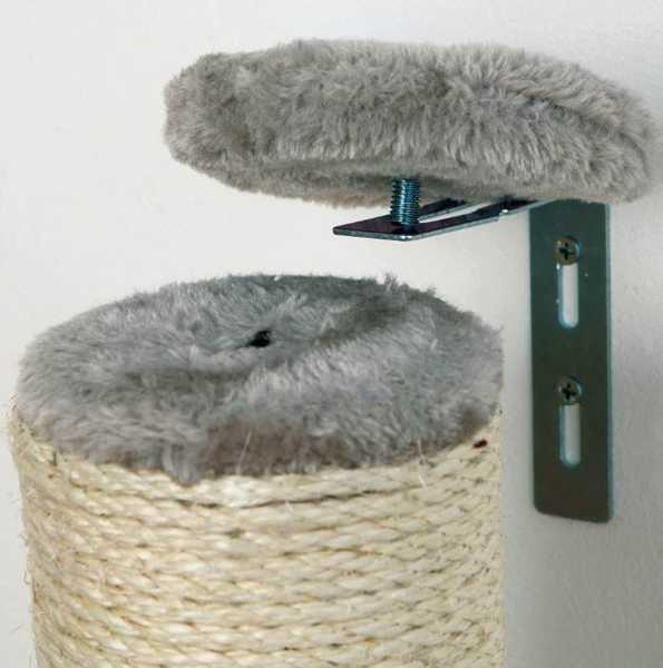 Poste rascador de sisal para gatos para la pared