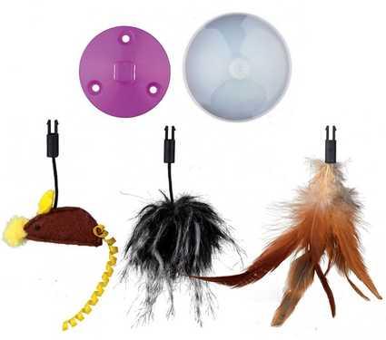 Accesorios que incluye el ratón loco de Trixie