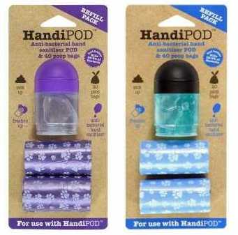 Colores de los recambios para el HandiPOD